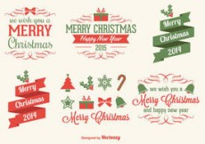 Free vector Christmas Vector Elements #4541
