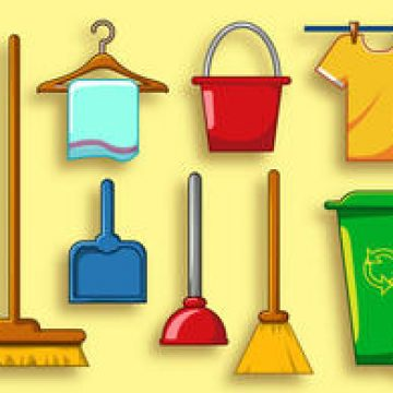 Free vector Clean Services Vector Icon Set #4650
