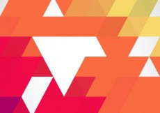 Free vector Colored background made with triangles #6762