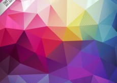 Free vector Colorful polygons background #6557