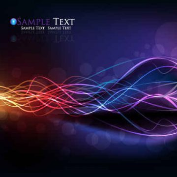 Free vector Colorful streamer background design #6035