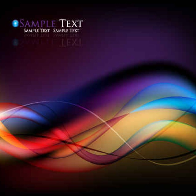 Free vector Colorful streamer background design #6037