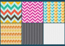 Free vector Curved Chevron Pattern Vectors #11339