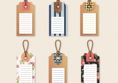 Free vector Cute tags collection #4678