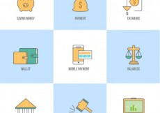 Free vector Different business icons #6967