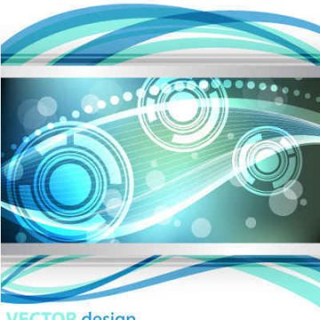 Free vector dynamic lines background #5961