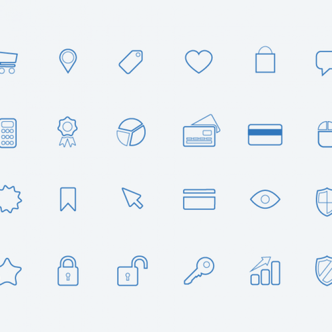 Free vector eCommerce Icons #5436