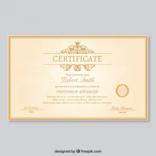 Free vector elegant certificate template 10924 my graphic hunt free vector elegant certificate template 10924 yelopaper Image collections