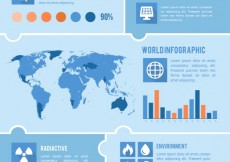 Free vector Environmental infographic #11078