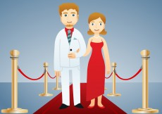 Free vector Famous Couple Vector #7744