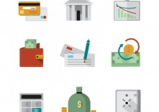Free vector Finance icons #9061