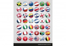 Free vector Flag Vectors of the World #8367