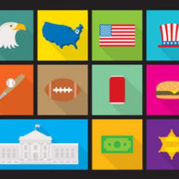 Free vector Flat Made In USA Flat Vectors #4516