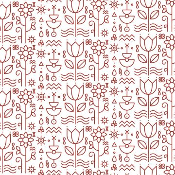 Free vector Floral Pattern Background Vector #9880