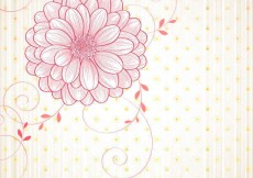 Free vector Free flowers vectors background #7322