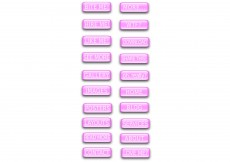Free vector Free Pink Word Button Vectors #8222