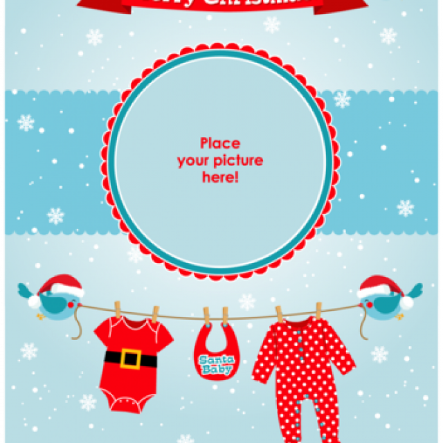 Free vector Free Royalty-Free Vectors To Show Off Your Little Santa Baby #5605