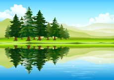 Free vector Free vector about free cartoon nature pictures #6262
