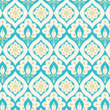 Free vector Free Vector Abstract Peacock Seamless Pattern #9856