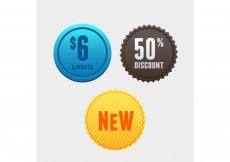 Free vector Free Vector of the Day #174: Product Tags #8509