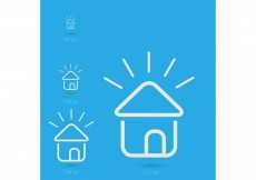 Free vector Free Vector of the Day #186: Home Icons #8511