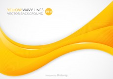 Free vector Free Yellow Wavy Vector Background #4061
