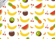Free vector Fruit collection pattern #6847
