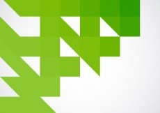 Free vector Geometrical green background #6754