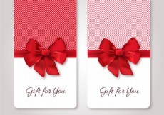 Free vector Gift cards template #9684