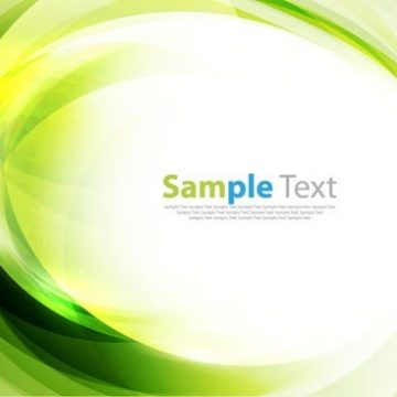 Free vector Green Abstract Art Background #5087