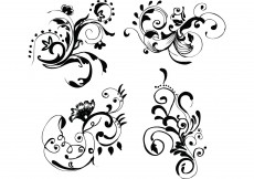 Free vector Hand Drawn Floral Free Vector Images #9740