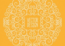 Free vector Hand drawn ornament #7114