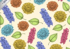 Free vector Hand drawn plant background #6857