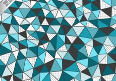 Free vector Hand drawn triangles background #9536