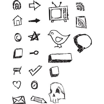 Free vector Hand Drawn Vector Icons #8848