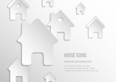 Free vector House icons #6722