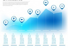 Free vector Infographic and timeline #10411