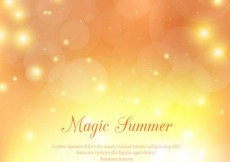 Free vector Magic summer background #11186