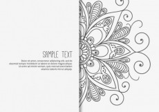Free vector Mandala background #11965