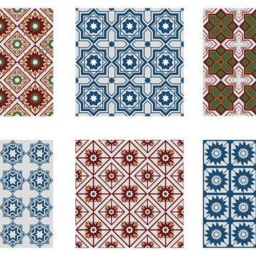 Free vector Morocco Seamless Pattern Vectors #9883