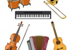 Free vector Music instruments collection #11597