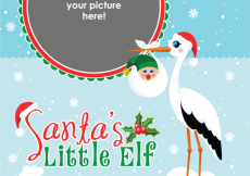 Free vector Note to Elf: Grab These Free Royalty-Free Christmas Baby Vectors Now #5608