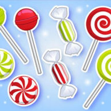 Free vector Peppermint Candy Vectors #4704