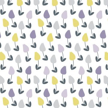 Free vector Pretty Floral Vector Pattern #9847