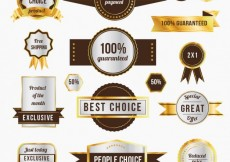 Free vector Promotion badges #11681