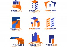 Free vector Real Estate logos #8776