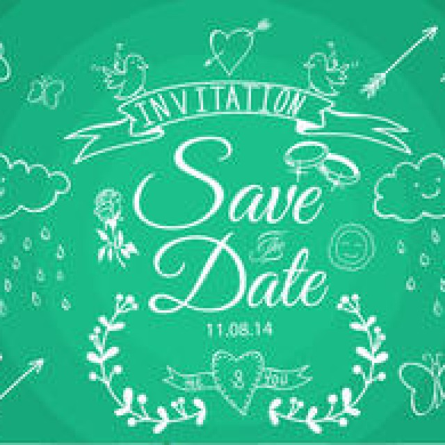 Free vector Save the Date Vectors #4478