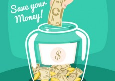 Free vector Save you money illustration #9450