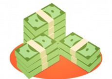 Free vector Stacked money #8933