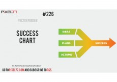 Free vector Success Chart Vector – Free Vector of the Day #226 #8425